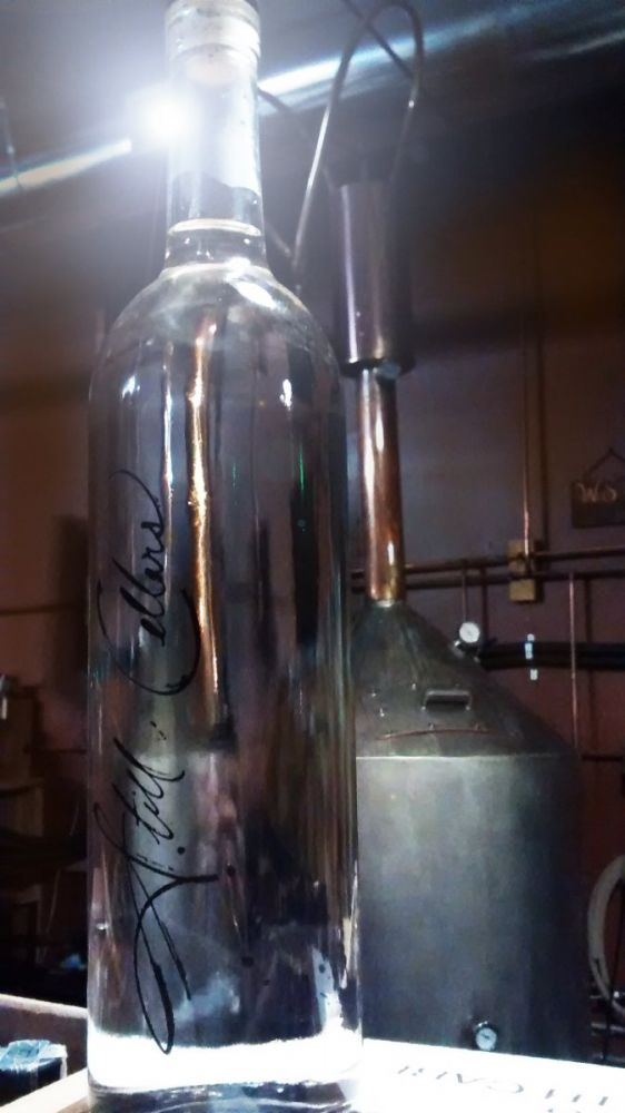 vodka batch 10 is in the bottle
